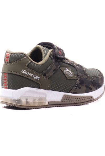 Slazenger Emır Spor Çocuk Ayakkabı Haki