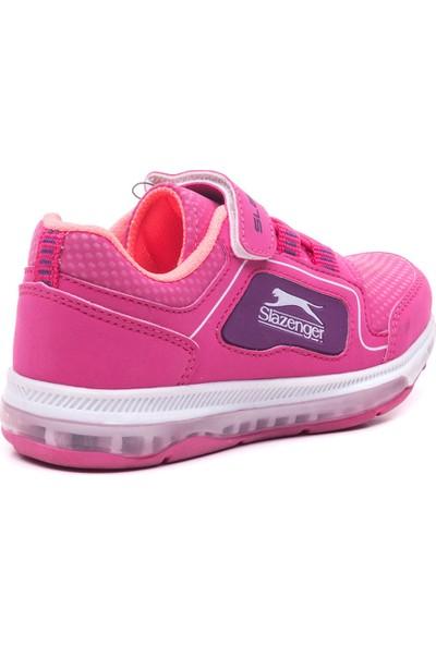 Slazenger Eser Spor Çocuk Ayakkabı Fuşya