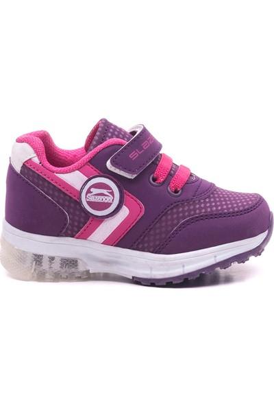 Slazenger Europa Spor Çocuk Ayakkabı Mor