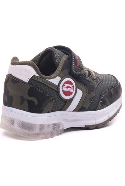 Slazenger Europa Spor Çocuk Ayakkabı Haki