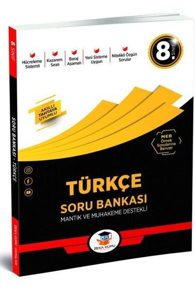 8.Sınıf Türkçe Soru Bankası Zeka Küpü Yayınları
