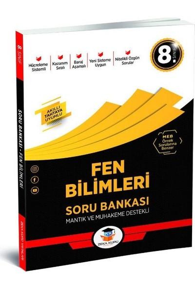 8.Sınıf Fen Bilimleri Soru Bankası Zeka Küpü Yayınları