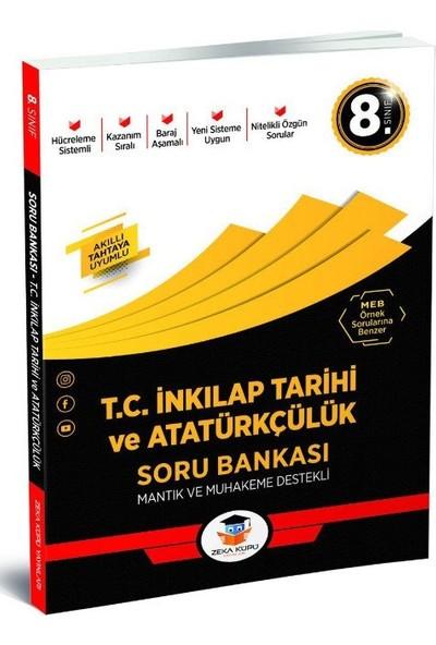 8.Sınıf T.C. İnkilap Tarihi Ve Atatürkçülük Soru Bankası Zeka Küpü Yayınları