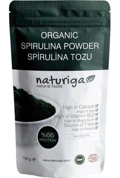 Naturiga Organik Spirulina Tozu