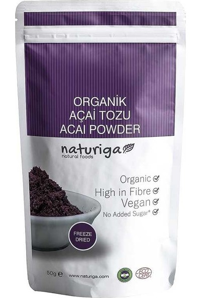 Naturiga Açai Tozu (Freeze Dried)