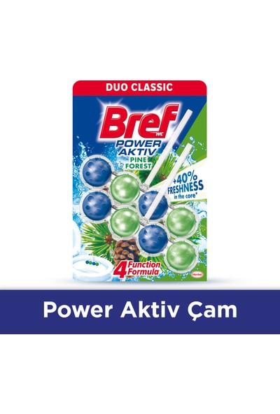 Bref Power Aktif Çam Katı Klozet Blok 2'li Özel Paket