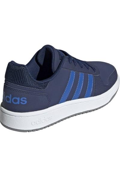 Adidas Lacivert Genç Basketbol Ayakkabısı Ee8999 Hoops 2.0 K