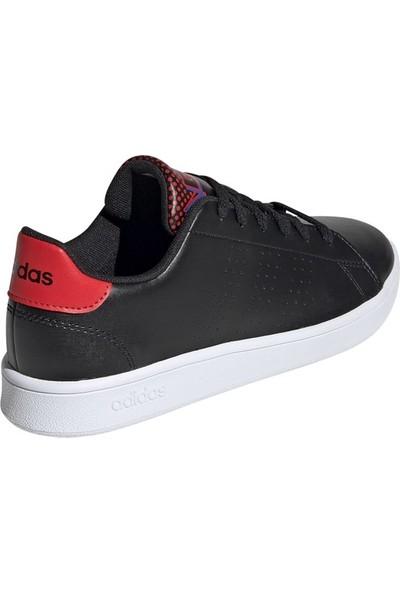 Adidas Siyah Genç Tenis Ayakkabısı Ef0216 Advantage K