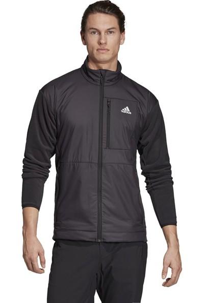 Adidas Erkek Günlük Ceket Spor Siyah Eh8703 Windfleece J