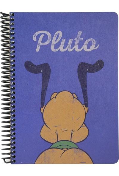 Mynote Mickey Mouse A5 100 Yaprak Kraft Kareli Defter Pluto
