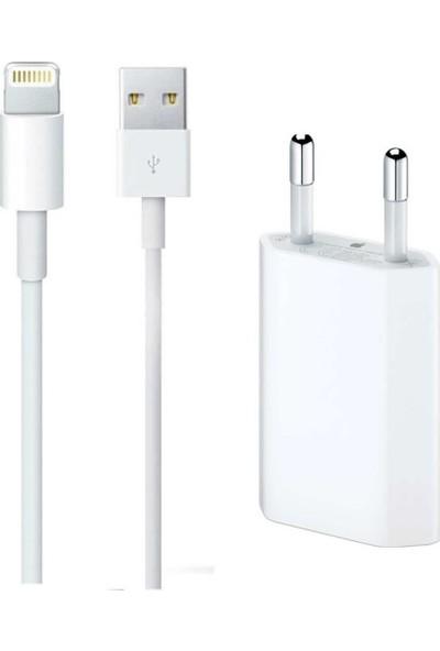 Newface Apple iPhone Kablo + Adaptör Şarj Aleti Seti