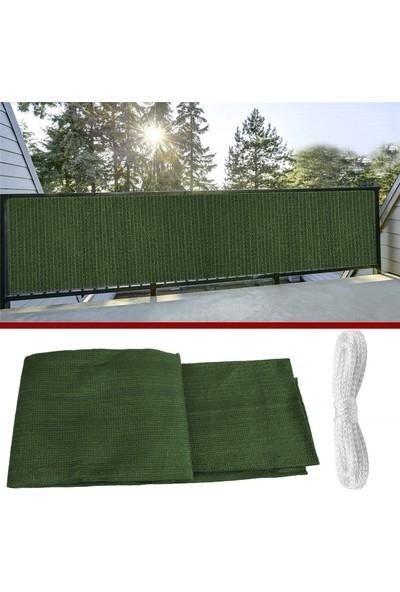 Okan Tel Çit Brandası Branda Gölgelikler Balkon Demirlerine Gölgelik Branda 1 x 5 m