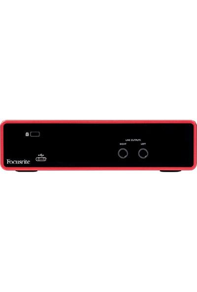 Focusrite Scarlett 2i2 Gen 3 USB Ses Kartı