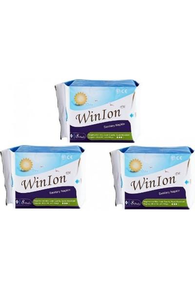 Winion Anion 3 Lü Gündüz Hijyenik Ped