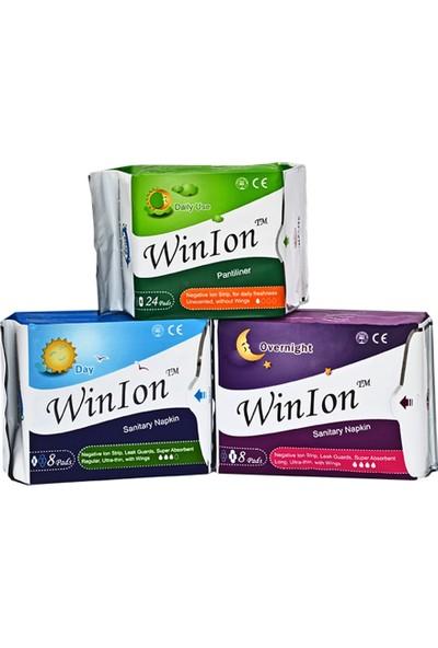 Winion Anion 3 Lü Gece, Gündüz, Günlük Hijyenik Ped