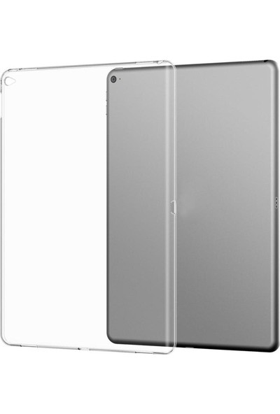 EssLeena Apple iPad 5. Nesil (2017) 9.7 Inç (A1822/A1823) Şeffaf Transparan Silikon Tpu