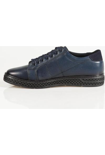 Ayakkabı Çarşı Günlük Lacivert Bağcıklı Ayakkabı Last105