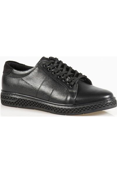 Ayakkabı Çarşı Günlük Siyah Erkek Ayakkabı Last106