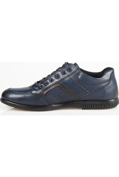 Ayakkabı Çarşı Günlük Lacivert Erkek Ayakkabı Oxid109