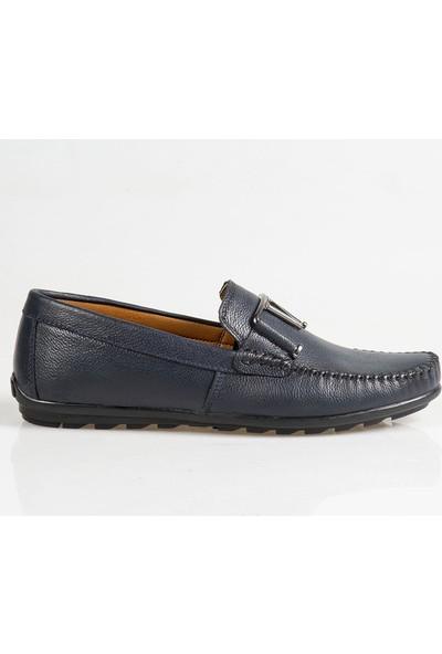 Ayakkabı Çarşı Günlük Lacivert Bağcıksız Ayakkabı Cnr066