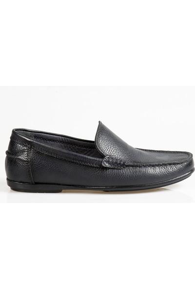 Ayakkabı Çarşı Günlük Bağcıksız Koyu Lacivert Ayakkabı Cnr092