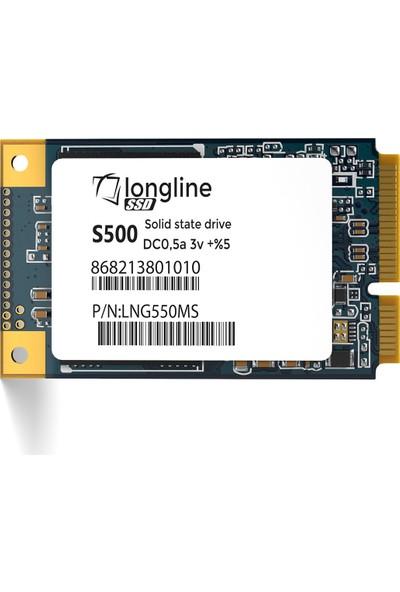 Longline 480GB Msata 520/500MB/S SSD LNG500MS/480G