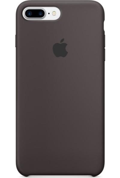 Intouch Apple iPhone 7 / 8 Plus Kakao Silikon Kılıf