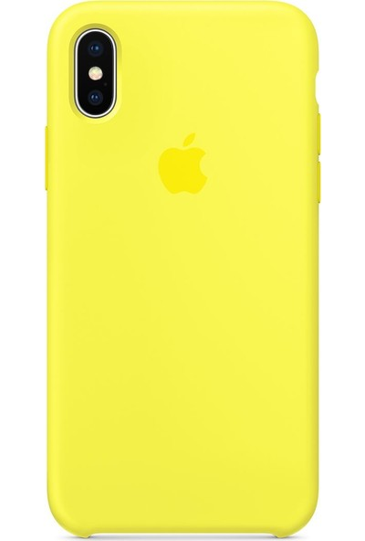 Intouch Apple iPhone X Case Flash Silikon Kılıf