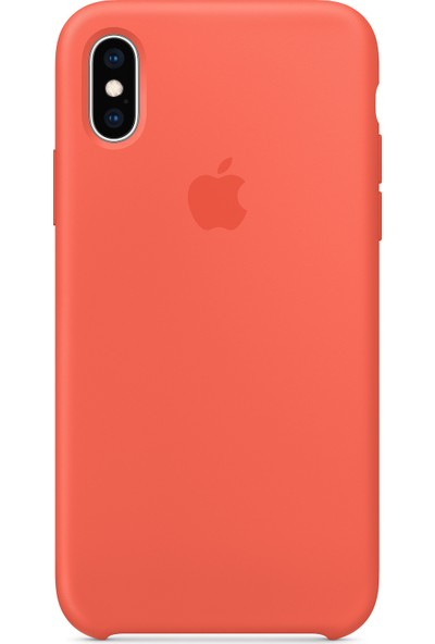 Intouch Apple iPhone XS Max Case Nectarine Silikon Kılıf