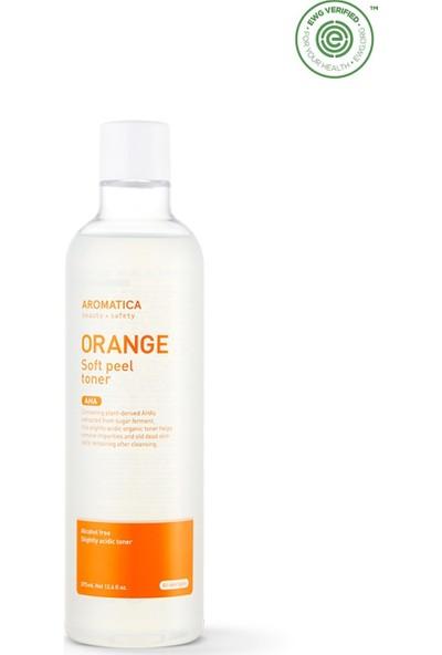 Aromatica Orange Soft Peel Toner - Portakallı Peeling Toniği