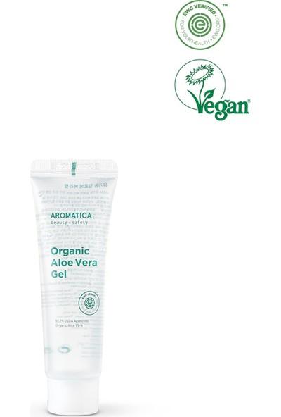 Aromatica %95 Organic Aloe Vera Gel - Organik Aloe Vera Jeli Mini