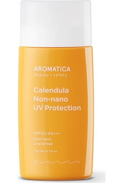 Aromatica Calendula NON-NANO UV Protection Unscented SPF30PA+++ - Doğal Geniş Spektrum Güneş Koruyucu