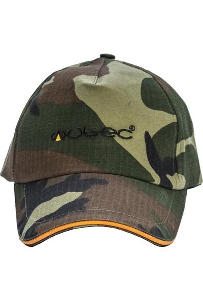 Wubec Spor Avcı Şapka Kamuflaj (Turuncu)