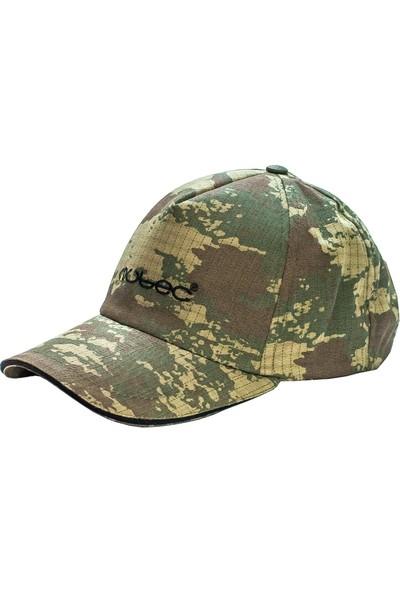 Wubec Spor Avcı Şapka Kamuflaj (Siyah)