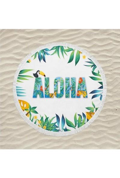 Newobsessions Aloha Plaj Örtüsü