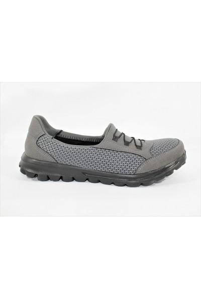 Marine Shoes Gri Kadın Sneaker Spor Ayakkabı 00447
