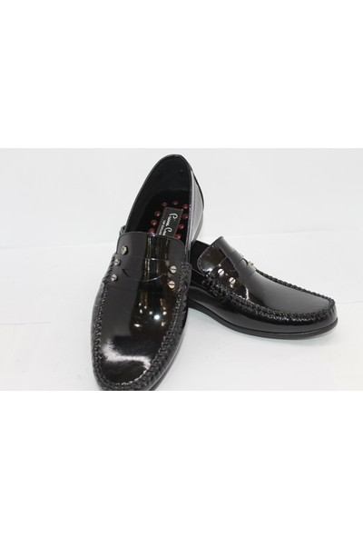 Pierre Cardin Vip Exculusive Siyah Rugan Erkek Ayakkabı 2522