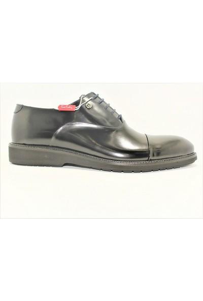 Pierre Cardin Siyah Rugan Erkek Günlük Ayakkabı 112370