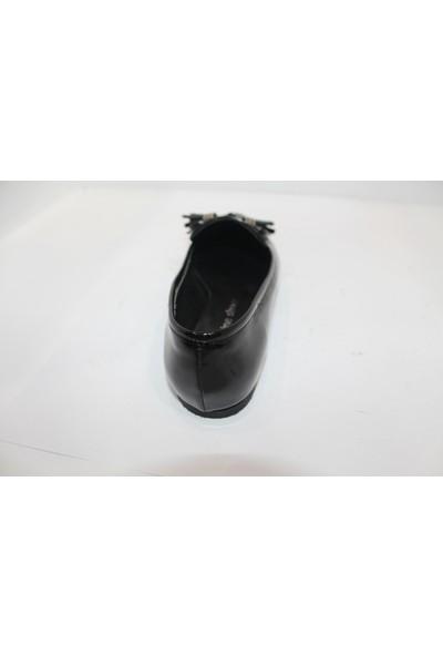 Marine Shoes Siyah Kadın Babet 039510