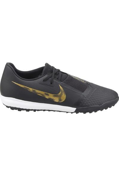Nike Phoantom Venom Academy Tf Erkek Halısaha Futbol Ayakkabısı Siyah-Altın