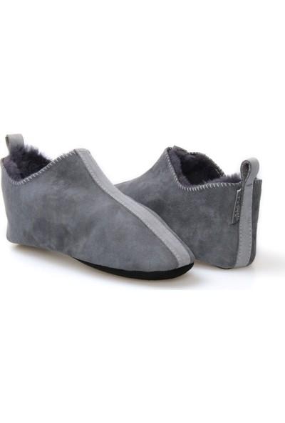 Pegia Kürk Kadın Ev Ayakkabısı 980442