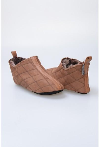 Pegia Kürk Kadın Ev Ayakkabısı 980450