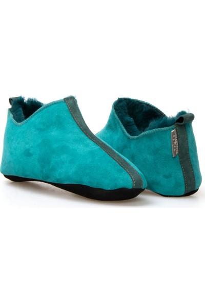 Pegia Kürk Kadın Ev Ayakkabısı 980457