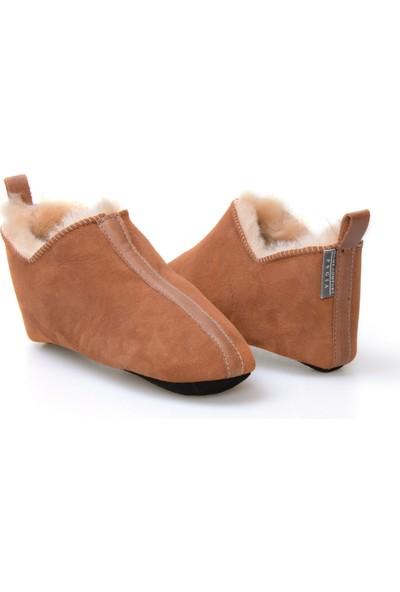 Pegia Kürk Kadın Ev Ayakkabısı 980461