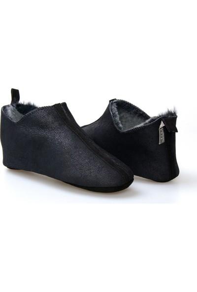 Pegia Kürk Kadın Ev Ayakkabısı 980579