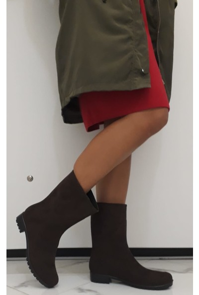 Savana Kadın Alkantra Çizme
