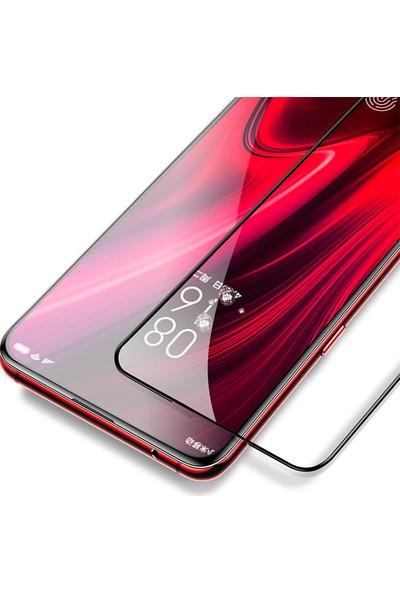 KNY Huawei Y9 Prime 2019 Full Yapışan 5D Tam Kaplayan Fiber Nano Ekran Koruyucu
