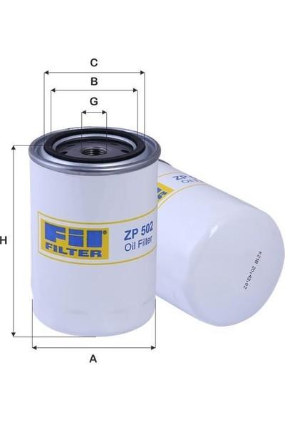 Fil Filtre Zp502 Yağ Filtresi FordTraktör Massey Ferguson Steyr yağ filtresi