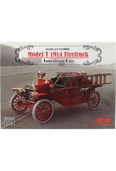 Icm 24004 1/24 Model T 1914 Itfaiye Arabası Maketi