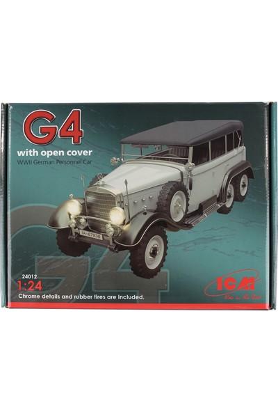 Icm 24012 1/24 WWII Alman Personel Aracı Maketi G4